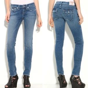 True Religion Disco Julie low rise skinny jean